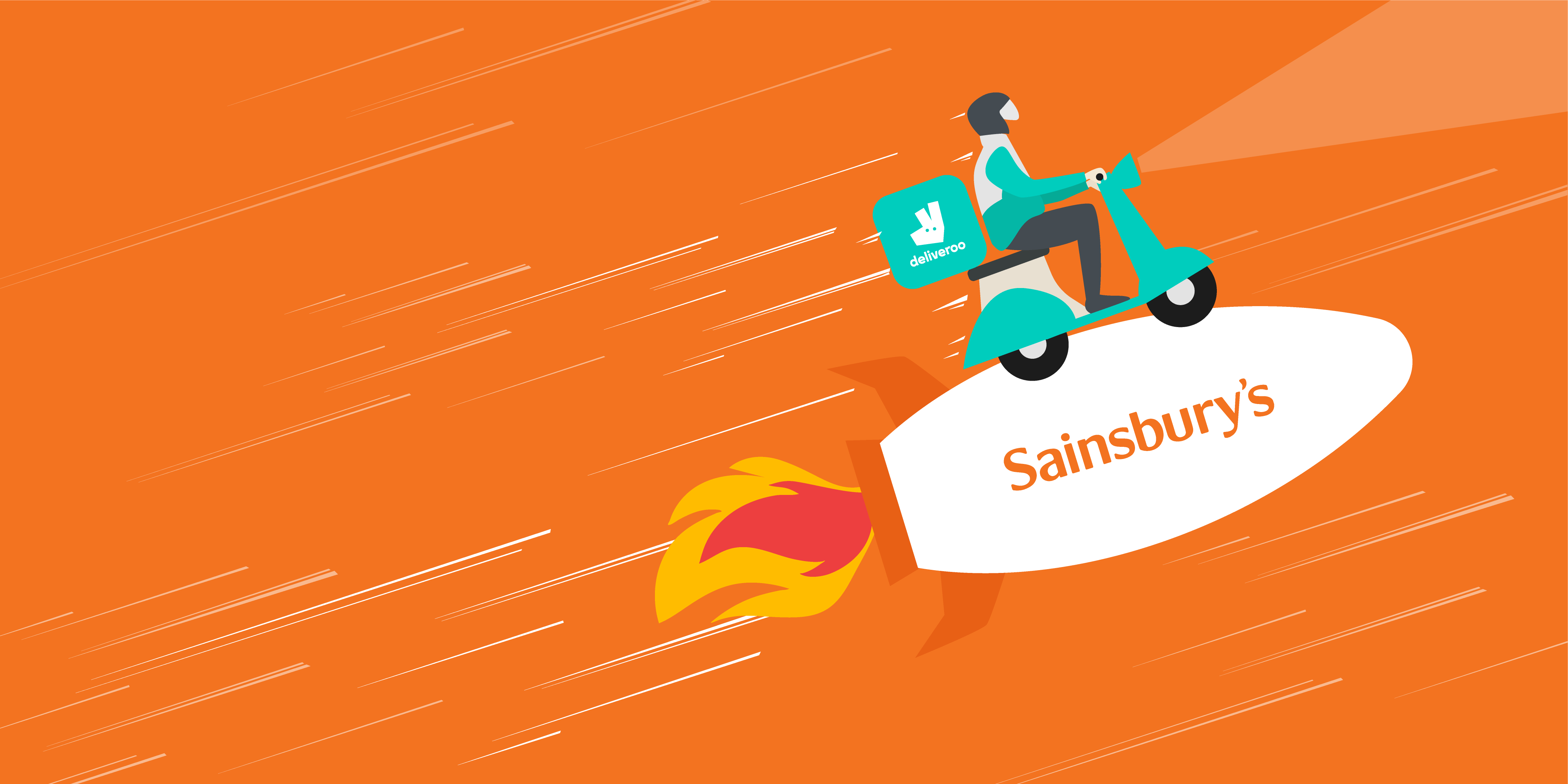 Why Deliveroo & Sainsbury's partnership is a great initiative